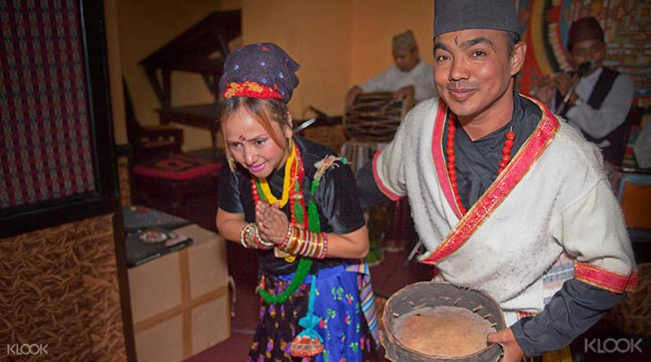 Authentic Nepali dinner with cultural shows