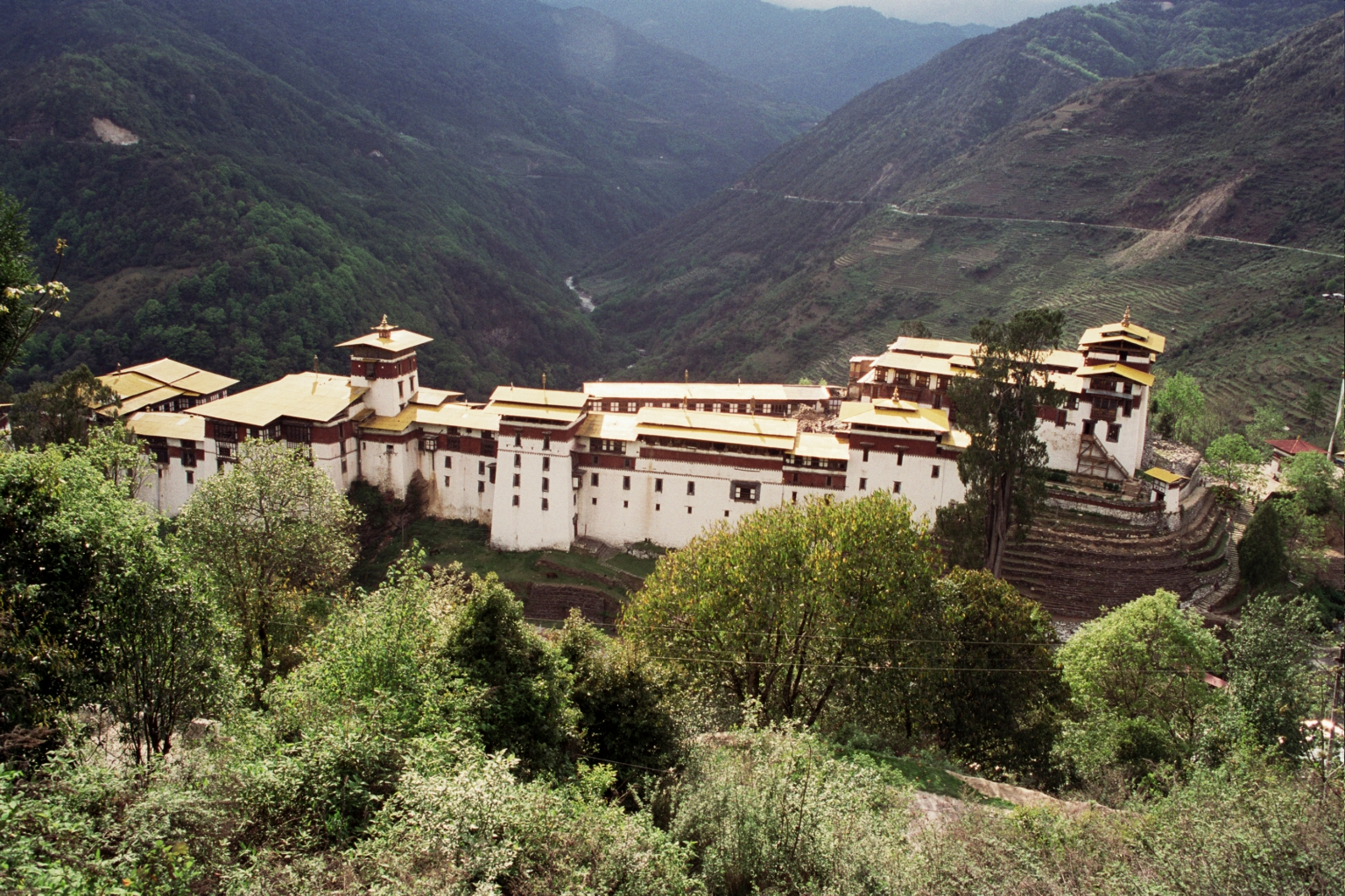 Bhutan Travel | Trongsa | Famous Attractions in Bhutan